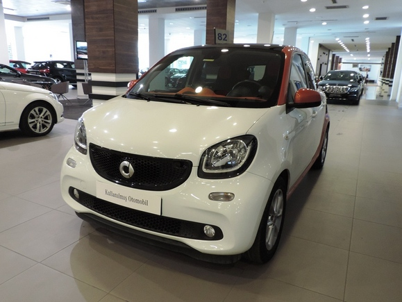 smart forfour 1.0 MHD PASSION